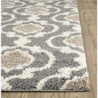Beautiful bedroom design ideas using grey carpet 099