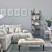 Beautiful grey living room decor ideas 13