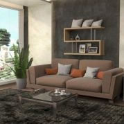 Beautiful grey living room decor ideas 30