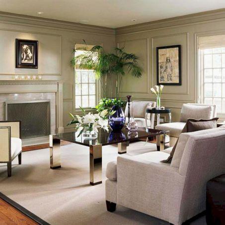 Beautiful grey living room decor ideas 38