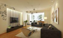 Beautiful grey living room decor ideas 49
