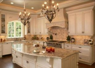 Beautiful kitchen design ideas for mobile homes 20
