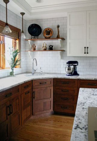 Beautiful kitchen design ideas for mobile homes 22