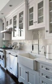 Beautiful kitchen design ideas for mobile homes 41