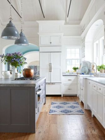 Beautiful kitchen design ideas for mobile homes 48