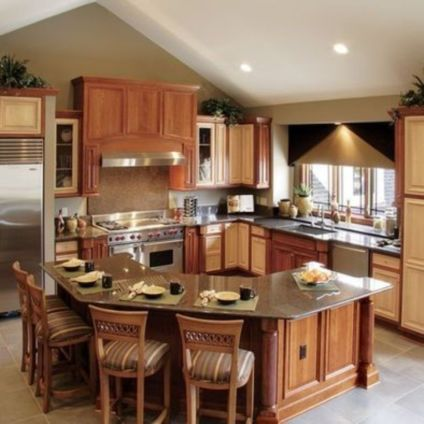 Beautiful kitchen design ideas for mobile homes 60