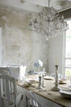 Beautiful shabby chic dining room decor ideas 09