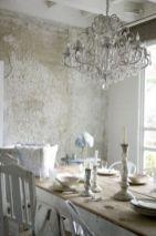 Beautiful shabby chic dining room decor ideas 09