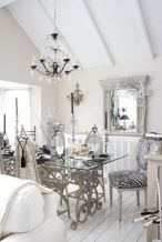 Beautiful shabby chic dining room decor ideas 24