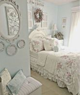Beautiful shabby chic dining room decor ideas 43