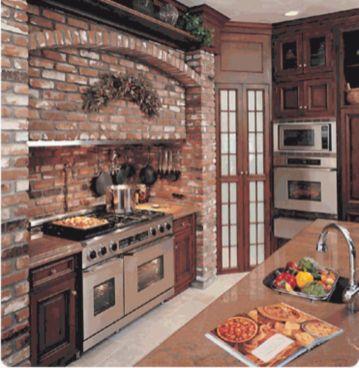 Brick kitchen 08