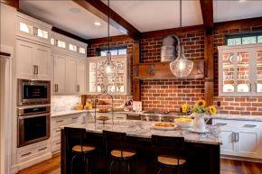Brick kitchen 18