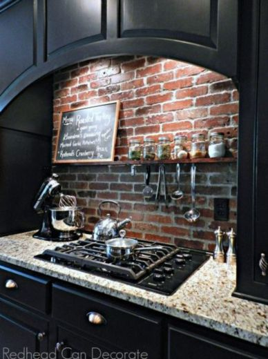 Brick kitchen 40