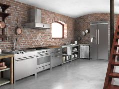 Brick kitchen 57