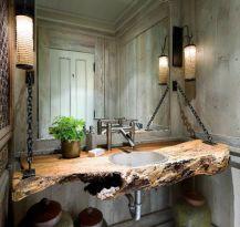 Cool bathroom counter organization ideas 02