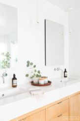 Cool bathroom counter organization ideas 08
