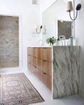 Cool bathroom counter organization ideas 10