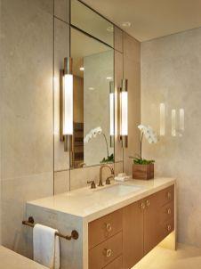Cool bathroom counter organization ideas 20