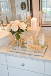 Cool bathroom counter organization ideas 39