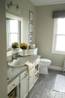 Cool bathroom counter organization ideas 42