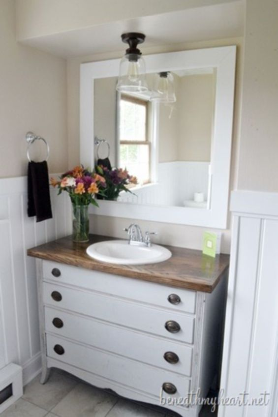 Cool bathroom counter organization ideas 45