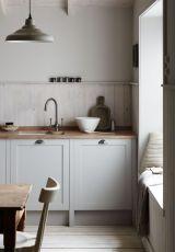 Cool grey kitchen cabinet ideas 16