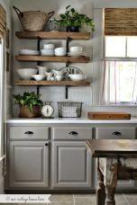 Cool grey kitchen cabinet ideas 31
