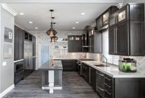 Cool grey kitchen cabinet ideas 41
