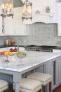 Cool grey kitchen cabinet ideas 64