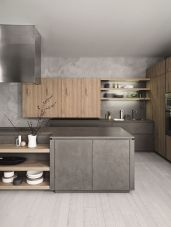 Cool grey kitchen cabinet ideas 73