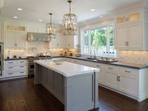 Cool grey kitchen cabinet ideas 78
