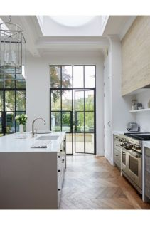 Cool kitchens design ideas with bay windows 05