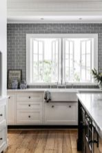Cool kitchens design ideas with bay windows 07