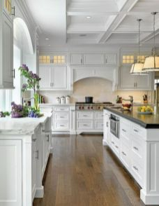 Cool kitchens design ideas with bay windows 11