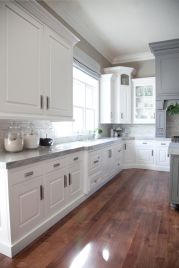 Cool kitchens design ideas with bay windows 14