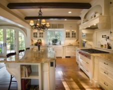 Cool kitchens design ideas with bay windows 21
