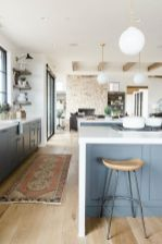 Cool kitchens design ideas with bay windows 37