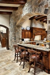 Cool kitchens design ideas with bay windows 57