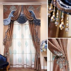 Cool luxury curtains for living room 09