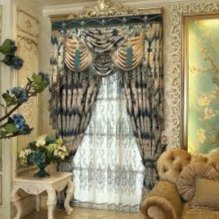 Cool luxury curtains for living room 12