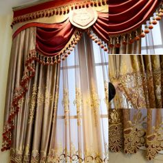 Cool luxury curtains for living room 66