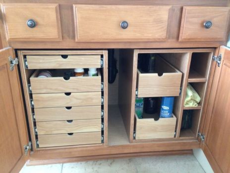 Corner kitchen cabinet storage 20
