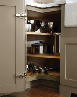 Corner kitchen cabinet storage 29