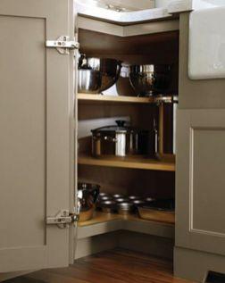 Corner kitchen cabinet storage 29