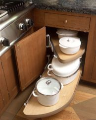 Corner kitchen cabinet storage 31