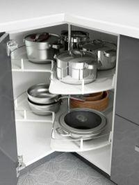 Corner kitchen cabinet storage 44