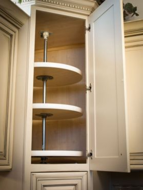 Corner kitchen cabinet storage 49