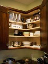 Corner kitchen cabinet storage 52