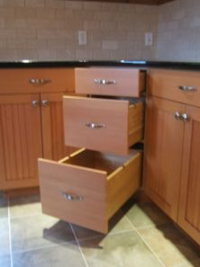 Corner kitchen cabinet storage 62