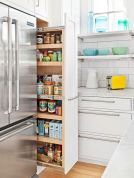 Corner kitchen cabinet storage 65